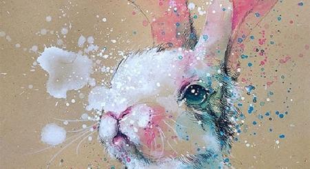Những bức vảy màu nước vô cùng ấn tượng của họa sĩ Singapo