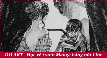 hoc-ve-tranh-manga-bang-but-line-doart