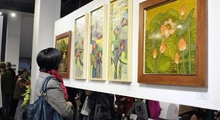 Triển lãm tranh UNESCO Mỹ thuật Hà Nội: