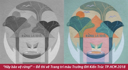 ve-trang-tri-mau-bao-ve-rung-tranh-co-dong-doart