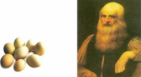 Vì sao khi mới học vẽ, Leonardo Da Vinci chỉ được vẽ trứng gà?